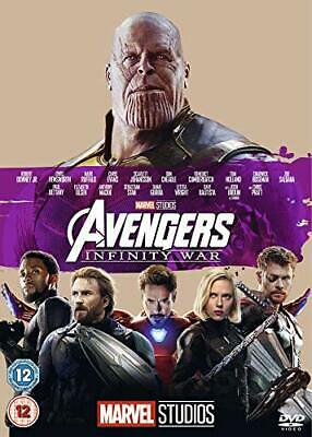 Avengers Infinity War [DVD] DISK ONLY FREE POST.