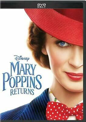 Mary Poppins Returns [DVD] DISK ONLY. FREE POST