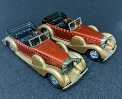 LOT Matchbox Car 1938 Lagonda Drophead Coupe / Lesney Made in England Dated 1972