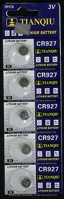 5 CR927 CR 927 3 Volt Lithium Button Cell Battery EXP 2022 USA SHIP