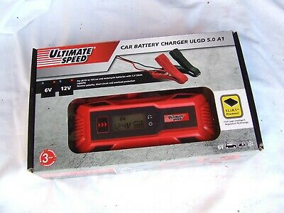 ULTIMATE SPEED CAR & Motorbike Battery Charger ULGD 3.8 B1