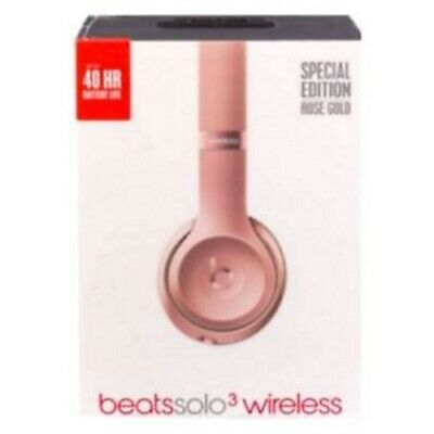 New Sealed Beats Solo3 Wireless On-Ear-HeadPhones Headband Pick Color Authentic