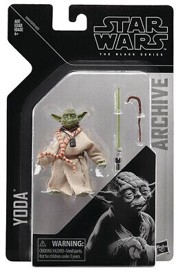 Star Wars Black Series 6 Inch Action Figure Archive Wave 2 - Yoda In Stock