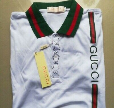 061ab7825fa1 GUCCI MEN'S POLO shirt XL BRAND NEW WITH TAGS - $220.00 | PicClick