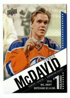 2015-16 Ud Tim Hortons Draft Pick Connor Mcdavid #Sp-1 Rookie Rc Sp