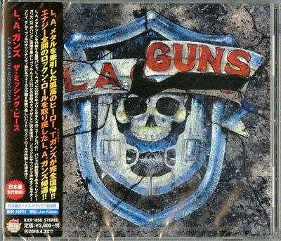 L.a.guns-The Missing Peace-Japan Cd Bonus Track F83