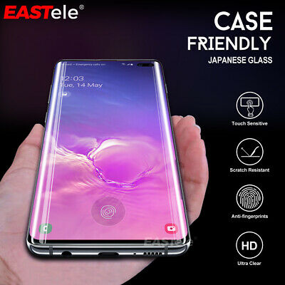 Galaxy S10 5G Plus S10e EASTele Tempered Glass Screen Protector Full Samsung