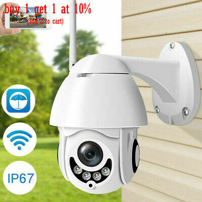 WiFi 1080P In/Outdoor Wireless IR Security IP Camera Night Vision Pan/Tilt Lot