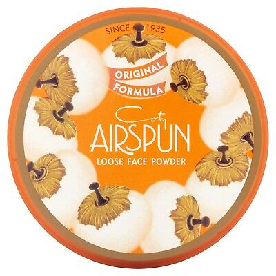 New Coty Airspun Loose Face Powder Original Formula Translucent Or Choose Shade