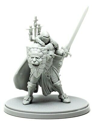 █ 50mm Scale Resin Kingdom Death White Knight Unpainted Unassembled WH330