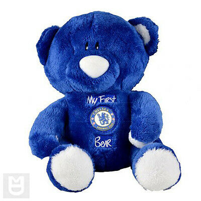 "Official Chelsea FC Football Team Badge Teddy ""My First Bear"""