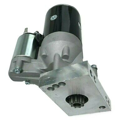 SBC Chevy Mini Starter High Torque Black 3HP 153 168 Tooth 350 400 Small Block