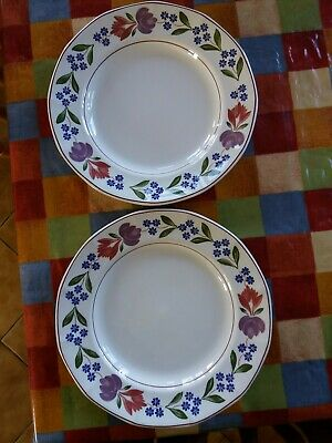 Adams - Old Colonial - Dinner Plates X2