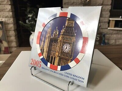 2005 U.k. Brilliant Uncirculated Coin Collection - Ex  Royal Mint.