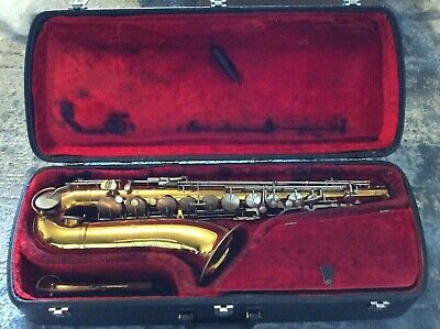Vintage King Cleveland 615 Tenor Saxophone - Original Condition