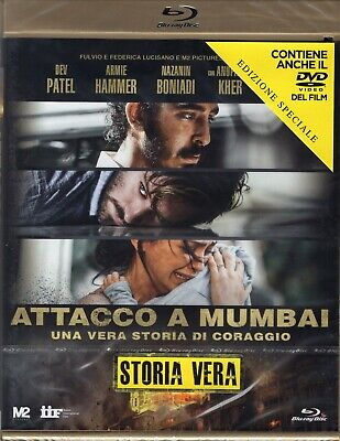 Attachment Mumbai. by the Real History of Coraggio (2019) Blue Ray +DVD Booking