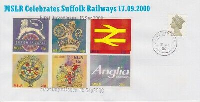 STAMPS STEAM RAILWAY SOUVENIR / FIRST DAY COVER FROM RARE COLLECTION No 039
