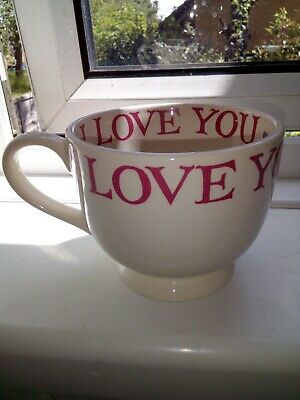 Emma Bridgewater I Love You Large Cup Unused Condition