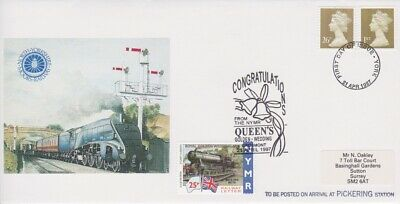 STAMPS STEAM RAILWAY SOUVENIR / FIRST DAY COVER FROM RARE COLLECTION No 068