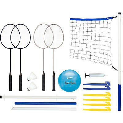 Recreational Badminton and Volleyball Combo Set
