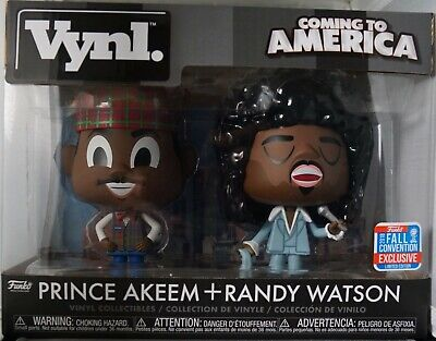 Coming To America Prince akeem /& Randy Watson Funko vynl 2-Pack NYCC Exclusive