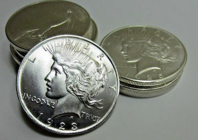(1) 1922-1925 Random Peace Dollar - Gem BU - 90% Silver - 1 Coin