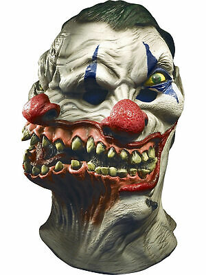 Siamese Clown Over Head Halloween Mask