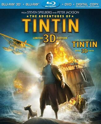The Adventures of Tintin [Blu-ray 3D + Blu-ray + DVD + Digital Copy]