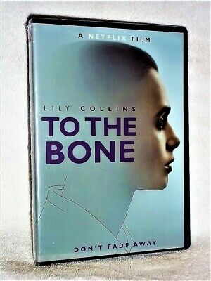 To The Bone (DVD, 2018) NEW NETFLIX Lily Collins Keanu Reeves young anorexic