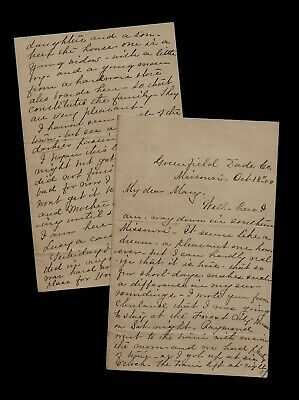Ca 1880's Greenfield, MO - Great Letter About Building Cable Car in Kansas City!