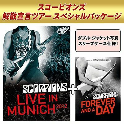 Scorpions-Live IN Munich 2012 + Forever And a Day-Japan 2 DVD Ltd / Edición U00