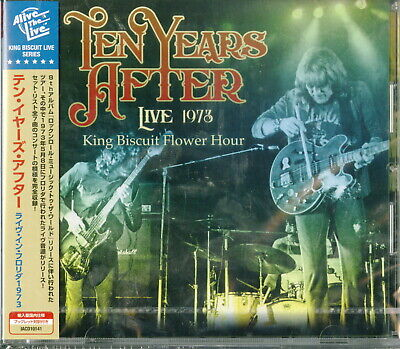 Ten Years After-Live 1973 King Biscuit Flower Hour-Import CD Japan Obi F08