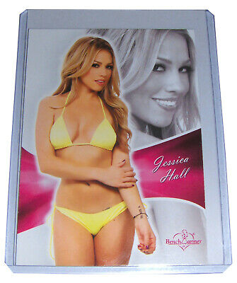 JESSICA HALL 2011 Bench Warmer Bubblegum Card #12, Deal Or No Deal, NM