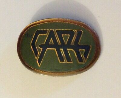 Vtg. The Cars Belt Buckle~1978~The Cars Music Rock Band Fans