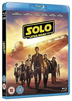 SOLO - A STAR WARS STORY (2018) Emilia Clarke (2 Disc UK Blu-Ray) + Slipcover
