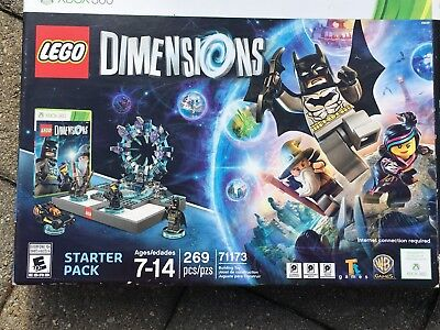 Lego Dimensions Starter Kit Pack Xbox 360 New Complete 71173 Batman Gandalf