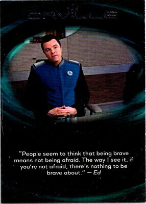 2019 The Orville Quotable #Q11 Chase Card Seth Macfarlane