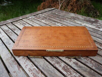 Lovely Antique Edwardian Fold Up Light Oak Inlaid Book/Bible Rest.cue To Comfort