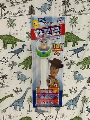 New Disney Pixar Toy Story 4 Edition Buzz Lightyear Pez Candy & Dispenser