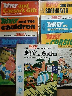 BD ASTERIX  en ANGLAIS BY GOSCINNY AND UDERZO- Dargaud- Collection - 70'