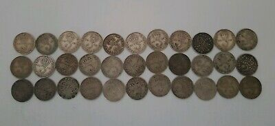 11 Silver three pence pre 1936 England UK from 1911 to 1921