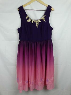 2e77c87b15 Destination DISNEY Her Universe TANGLED Rapunzel Ombre dress Dress XL