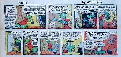 Pogo by Walt Kelly - full color Sunday comic page - October 30, 1960