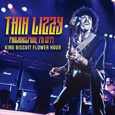 THIN LIZZY-LIVE IN PHILADERPHIA King Biscuit ...- IMPORT 2 CD BONUS aus Japan