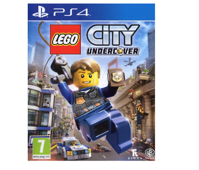 LEGO City Undercover PS4 PlayStation 4 - Brand New Sealed Free Postage