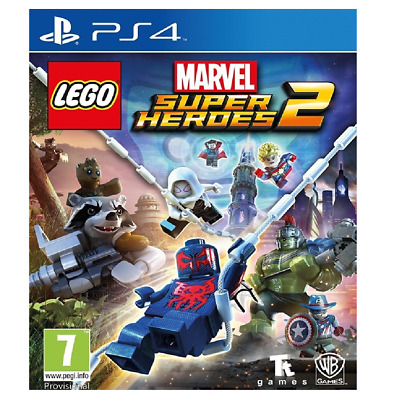 LEGO Marvel Super Heroes 2 PlayStation 4 - BRAND NEW / SEALED / FREE SHIPPING