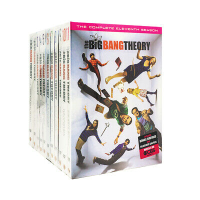 THE BIG BANG THEORY: Complete Series Seasons 1-11 DVD BRAND NEW Sealed USA