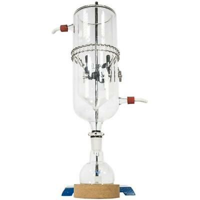 Dewar Style Glass Cold Trap Metal Keck Clip Boss Head Lab 250-500ml Cork Stand