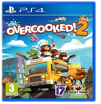 Overcooked 2 PS4 PlayStation 4 - Brand New Sealed Free Postage