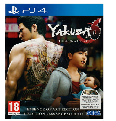 Yakuza 6: The Song Of Life PS4 PlayStation 4 - Brand New Sealed Free Postage